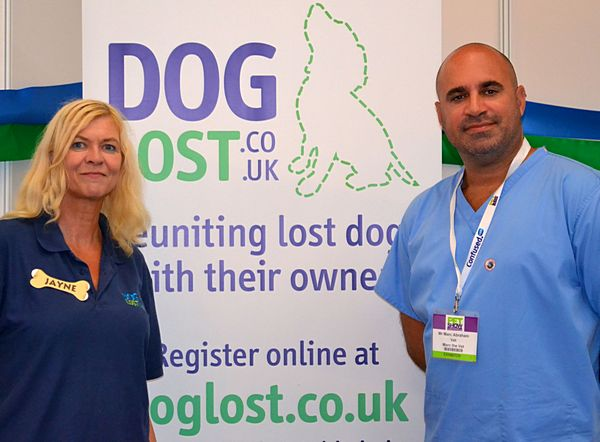 Jayne Hayes of DogLost works with a number of charities including Pupaid