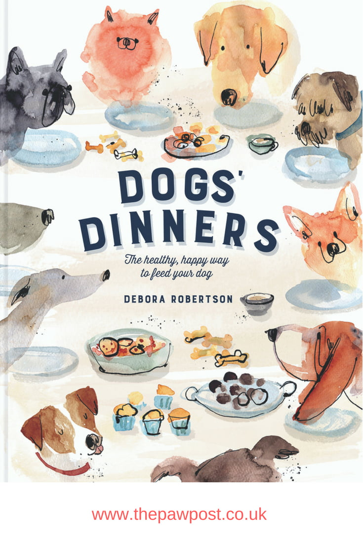Dogs' Dinners is Debora Roberton's cookbook for dogs packed with recipes for pets - and their owners!