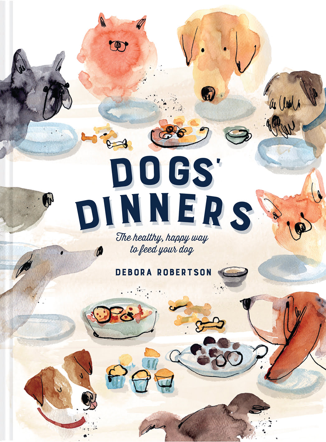 Dogs's Dinners is beautifully illustrated by Cinzia Zenocchini with over 50 recipes for dogs!