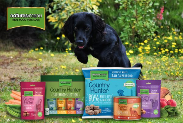 Win a month's supply of Natures Menu pet food