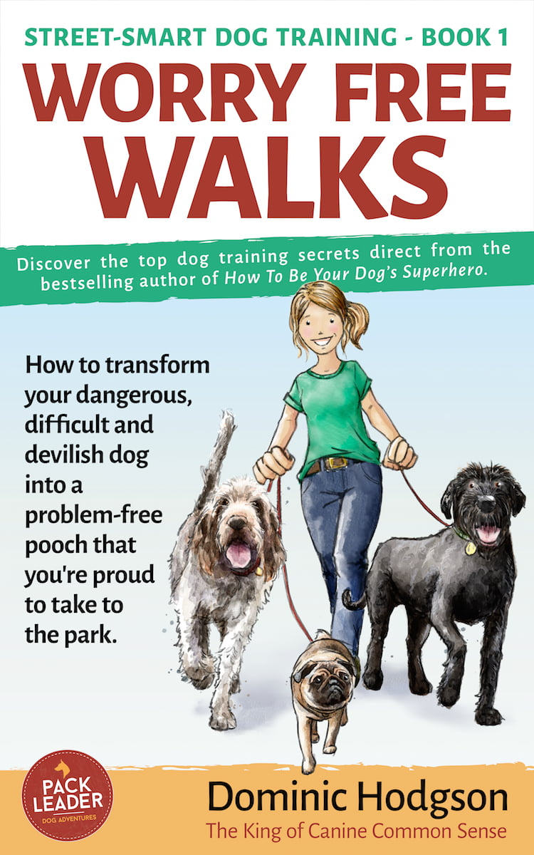 Dominic Hodgson talks about why he created his new book Worry Free Walks