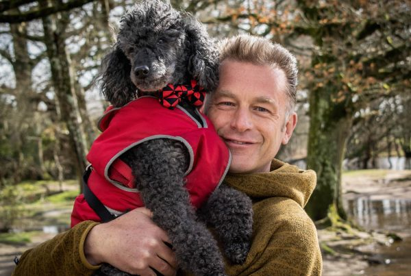 Chris Packham on hosting Dogstival and his incredible bond with Poodle Scratchy