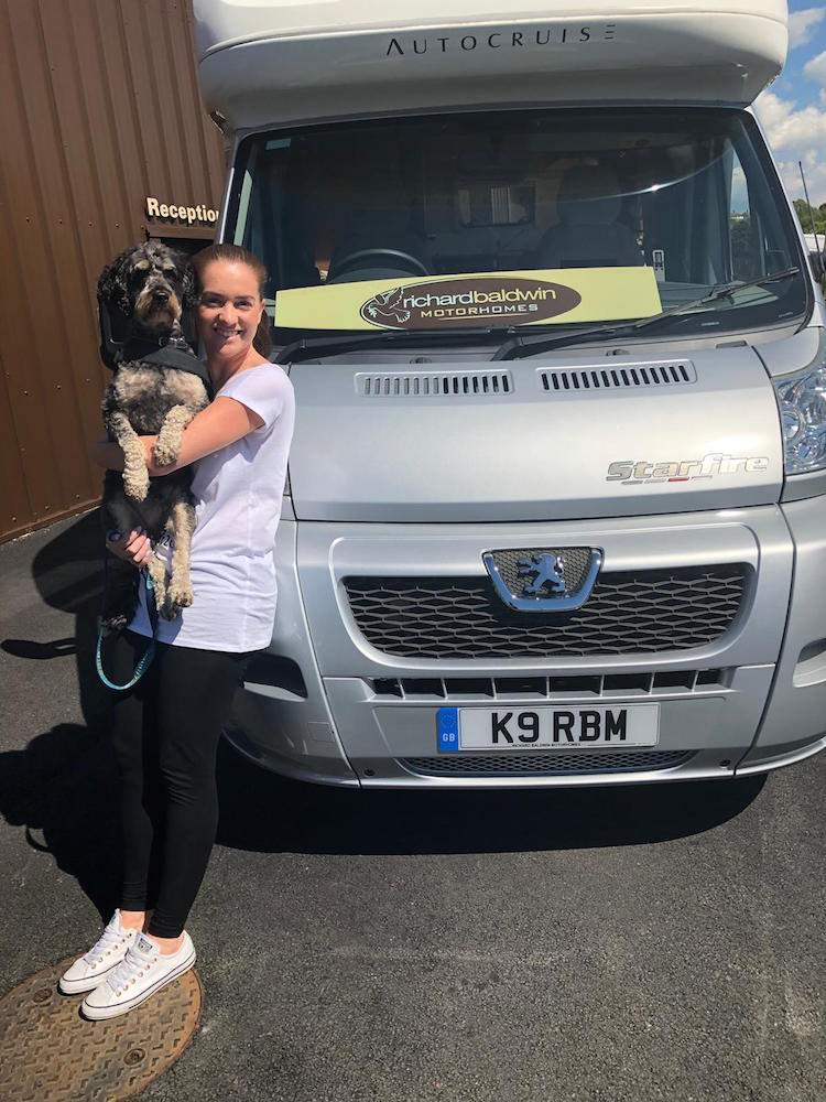 Becky Baker from K9Nation talks about her #pawsontour2019 mission to find the UK's most dog friendly place
