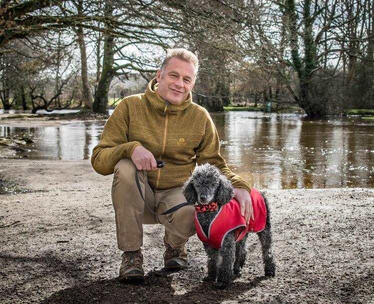 Chris Packham talks about his bond with Poodle Scratchy and why he's hosting Dogstival