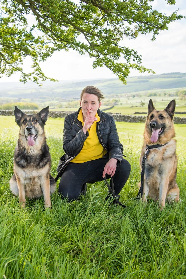 Dog Trainer Claire Lawrence