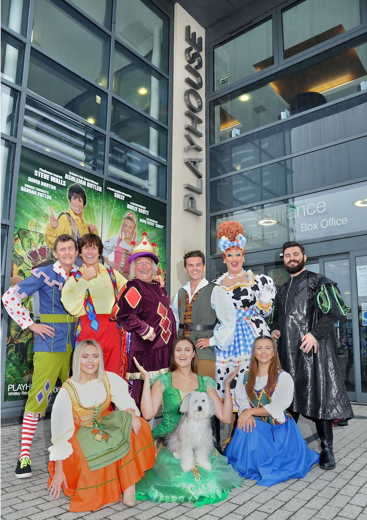 Jack and The Beanstalk cast at the Whitley Bay playhouse