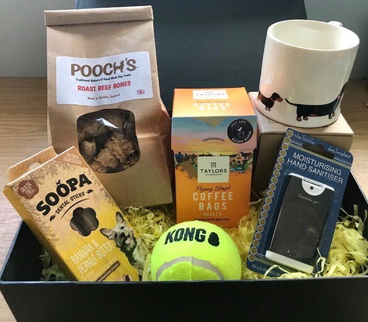 Treat box for terrier mums