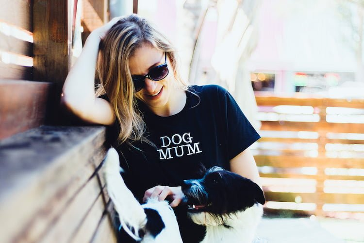 Dog Mum T shirt